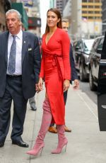 Mandy Moore At the Late Show With Stephen Colbert, New York