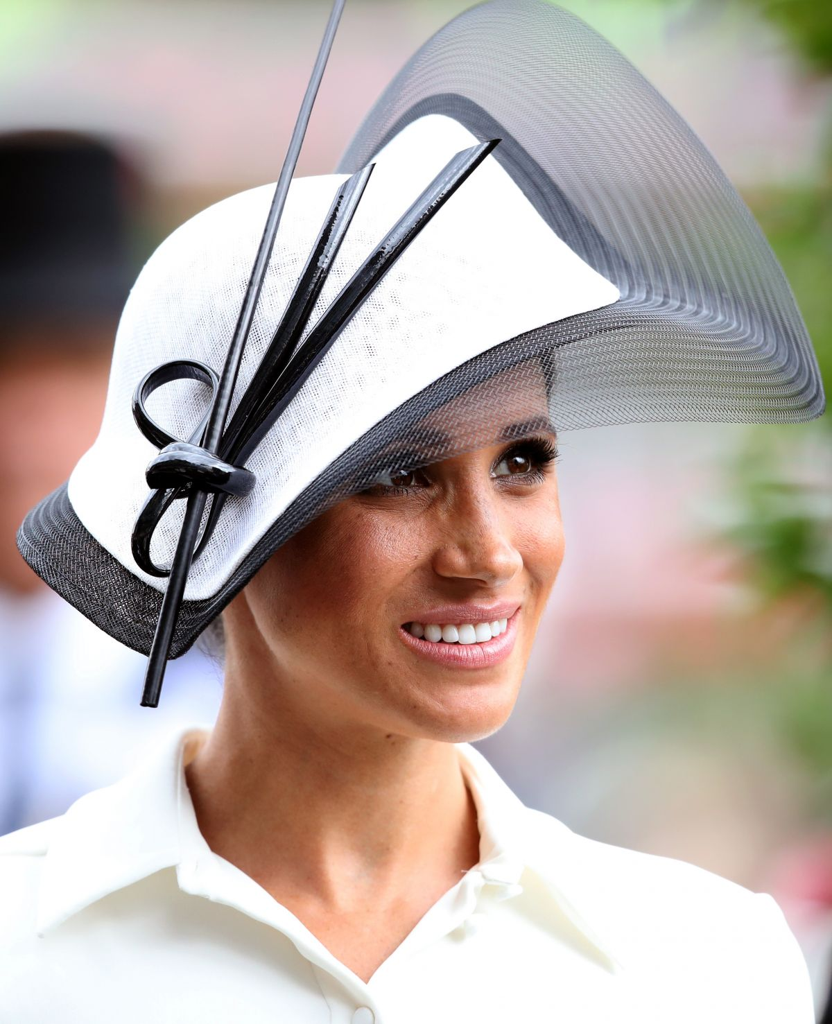 Meghan Markle, Duchess of Sussex At Day one of Royal Ascot in Ascot, UK