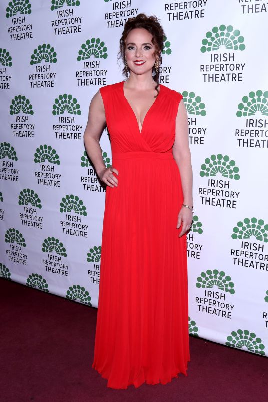 Melissa Errico At 2018 Irish Repertory Theatre Gala held at The Town Hall, New York