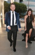 Mhairi Fergusson Arriving to a movie premiere with an unknown male in Los Angeles