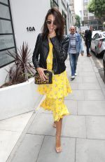 Michelle Keegan At AOL building in London