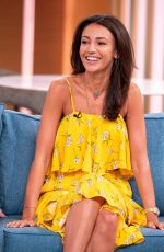 Michelle Keegan At This Morning TV Show London