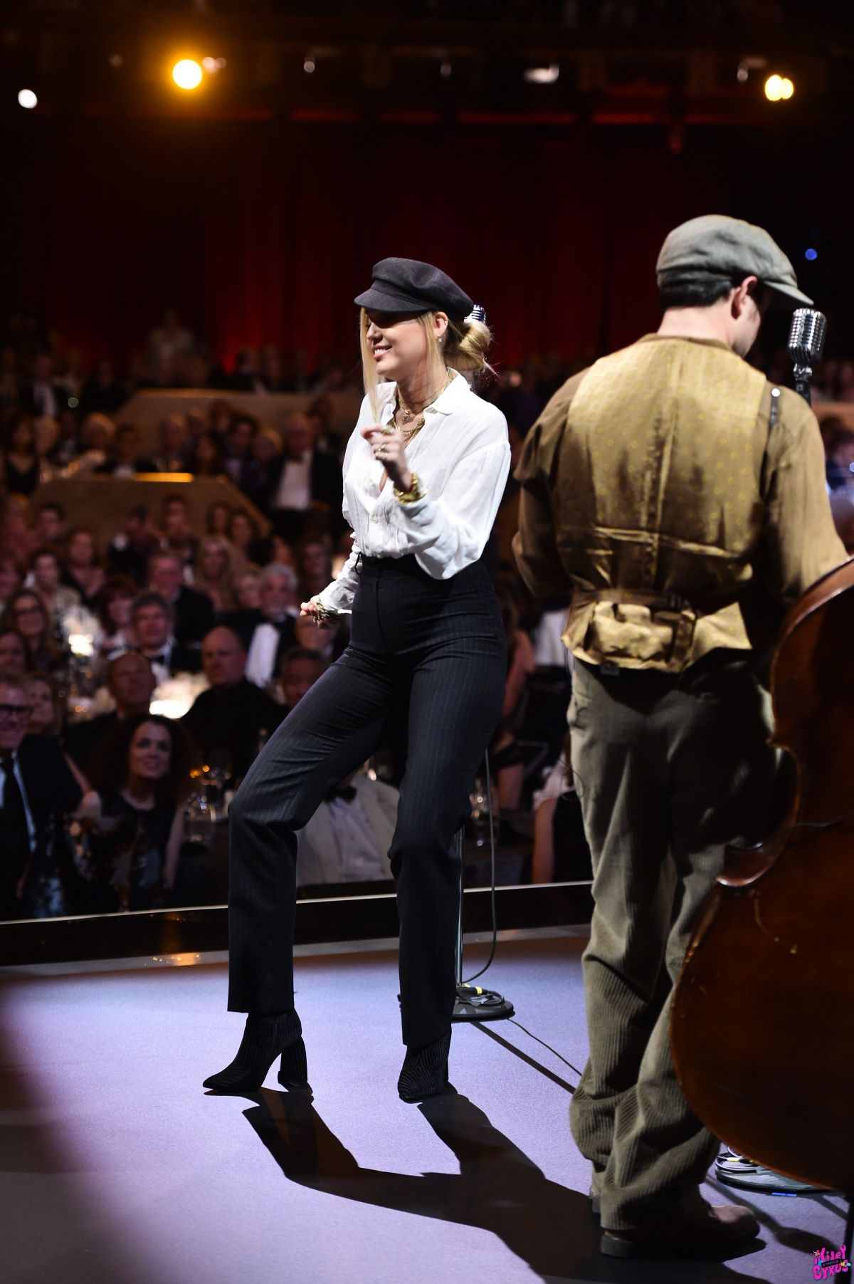Miley Cyrus performs at American Film Institutes 46th
