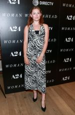 Mina Sundwall At New York Special Screening of Woman Walks Ahead, Whitby Hotel, New York