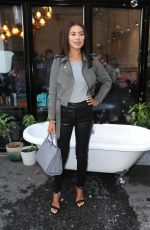 Montana Brown Attending the Skinny Dip event in Shoreditch, London, UK