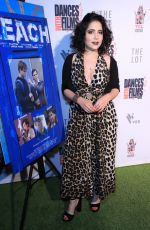Natasha Capp At World Premiere Screening of