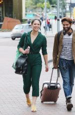 Nicola Thorp and Charlie de Melo out in Manchester