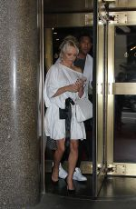 Pamela Anderson Seen after an appearance on