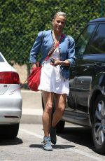 Paula Patton Shows off her Summer fashion sense as she heads to a meeting, Beverly Hills