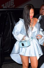 Rihanna Spotted arriving to the Stance Socks Pop up Shop in Soho