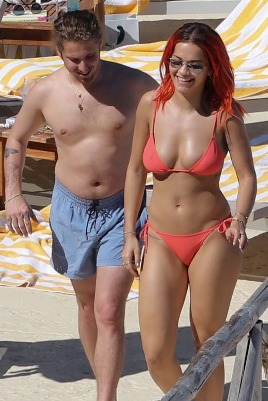 Rita Ora and Andrew Watt enjoy some down time together in Tuscany