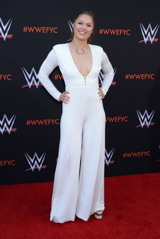 Ronda Rousey At WWE FYC Event in Los Angeles