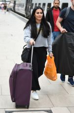 Sair Khan Catching the train at Manchester Piccadilly and heading to London Euston
