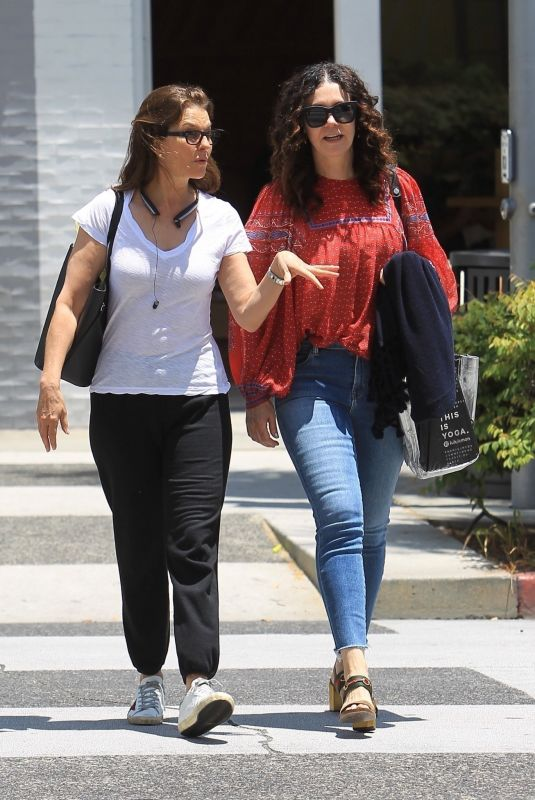 Sela Ward Goes shopping in Beverly Hills