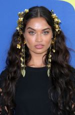 Shanina Shaik Attends the 2018 CFDA Fashion Awards at Brooklyn Museum in New York City