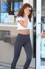 Sofia Richie At a gas station in Beverly Hills