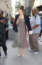 Sutton Foster Arriving at the