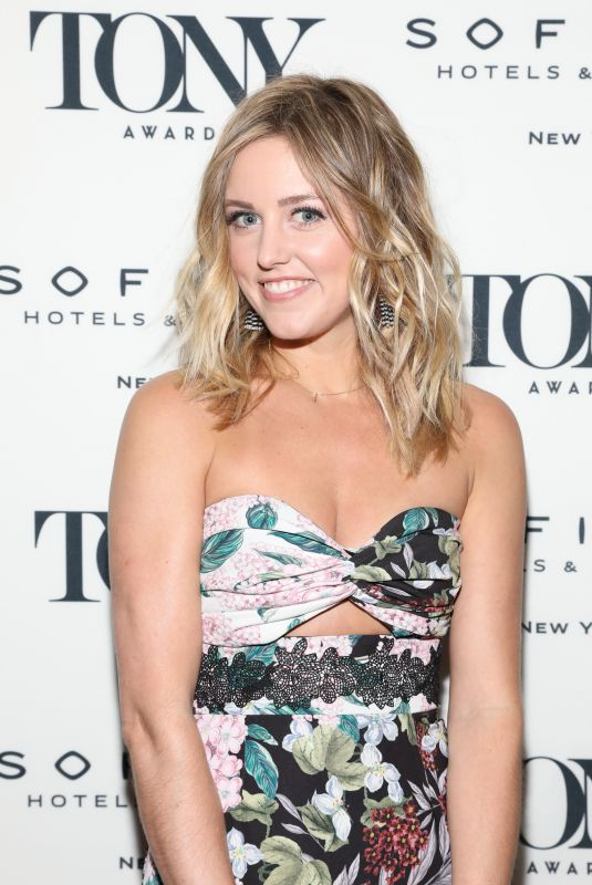 Taylor Louderman At Tony Honors Cocktail Party, New York