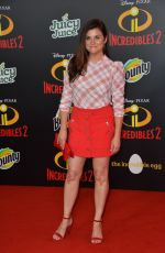 Tiffani Thiessen At Incredibles 2 Film Premiere in Los Angeles