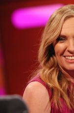 Toni Collette Filming of the Graham Norton Show at BBC Studioworks in London