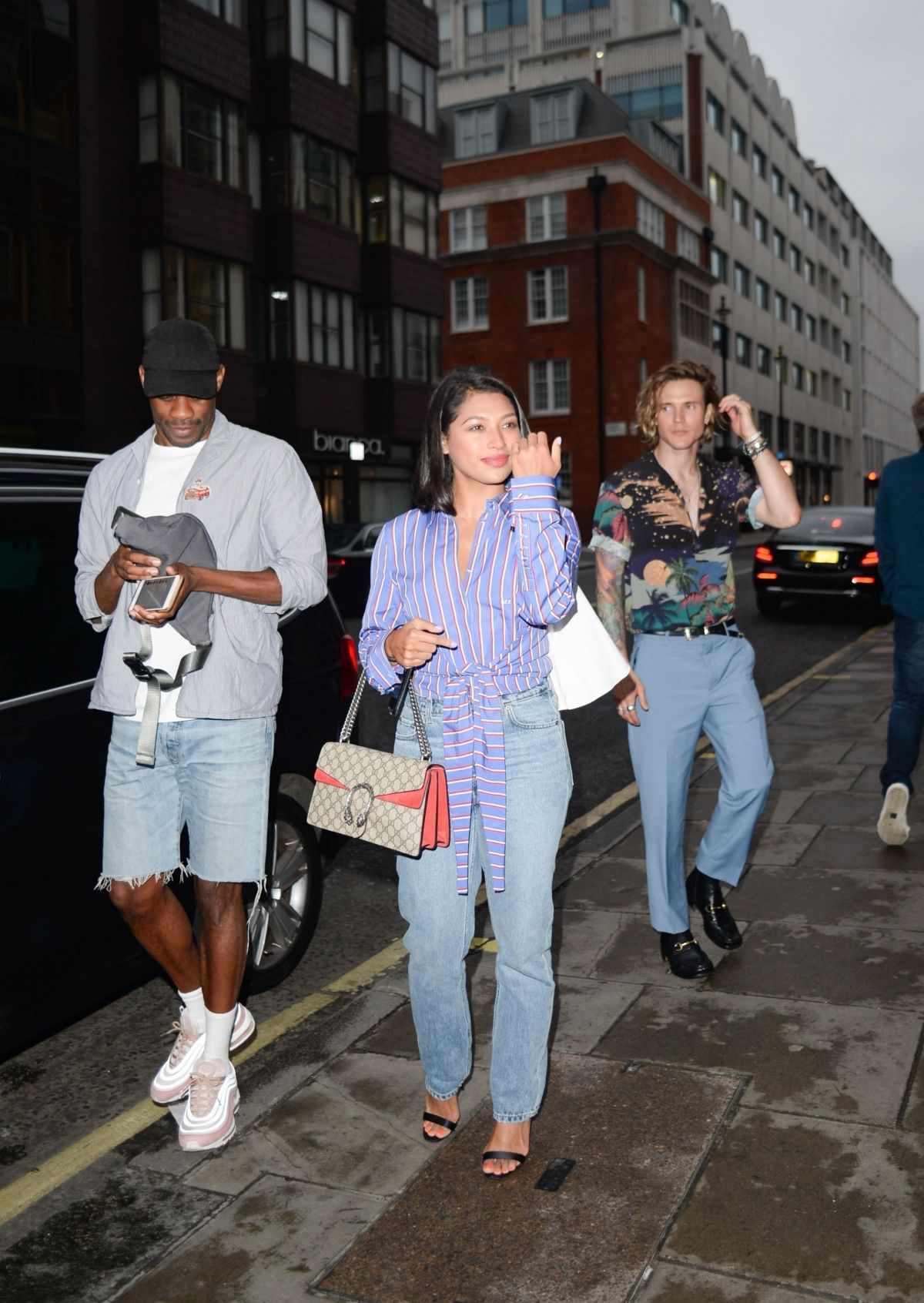 f486b2c7aaf Vanessa White Arrives at the LFW Men Daniel W. Fletcher x Christian  Louboutin Cocktail Party