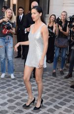 Adriana Lima Attends the Vogue Foundation Dinner 2018 at Palais Galleria in Paris