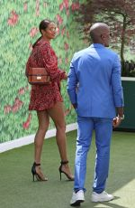 Alesha Dixon At the Wimbledon women