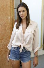 Alessandra Ambrosio At backstage of Zuhair Murad Couture runway during Haute Couture Autumn - Winter 2018-19 Collection in Paris