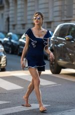 Alessandra Ambrosio Out in Paris