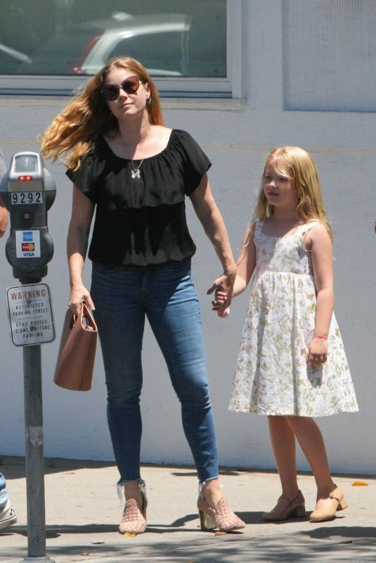 Amy Adams Out for shopping with her family and a friend in Beverly Hills