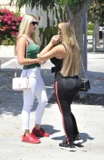 Anastasiya Kvitko At Il Pastaio in Beverly Hills for lunch