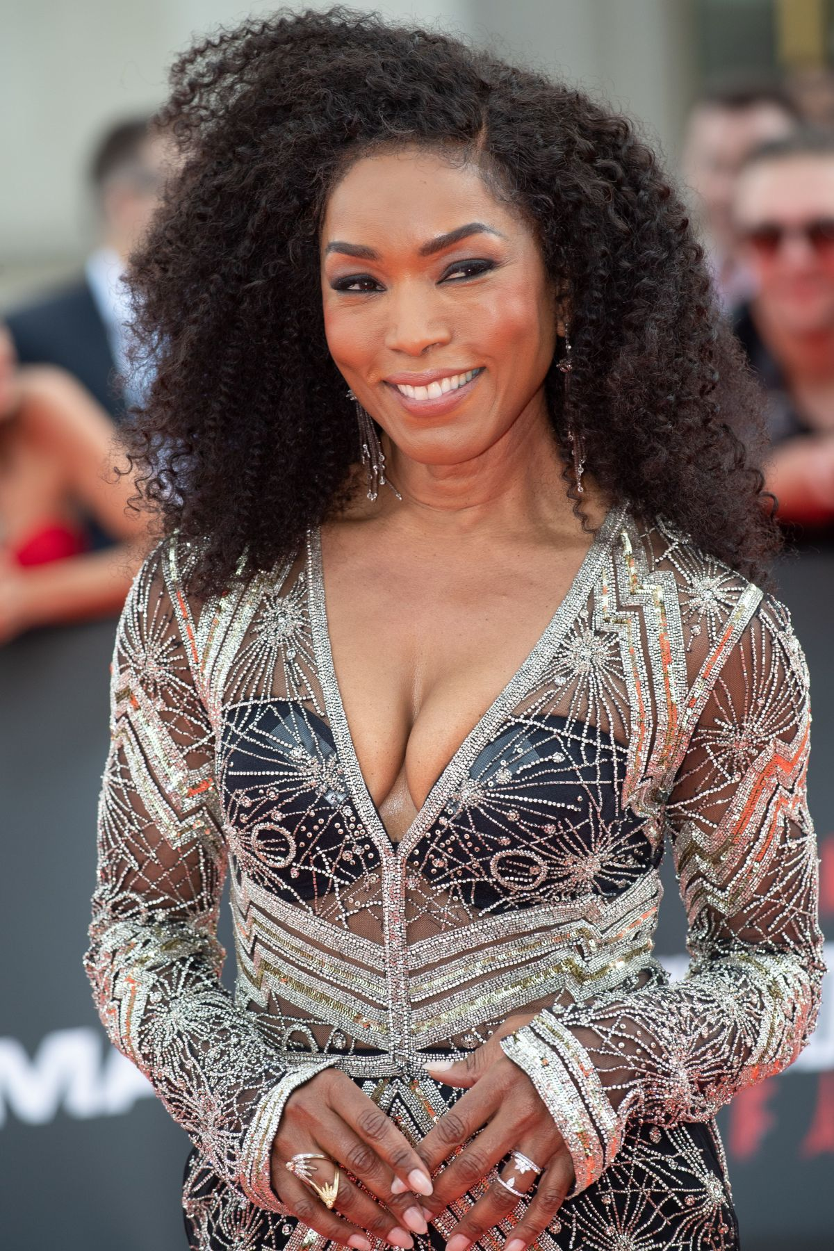 Angela Bassett At Mission Impossible Fallout Film