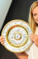 Angelique Kerber At Press Conference with Porsche in Stuttgart