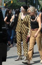 Annie Clark aka St. Vincent Steps out New York