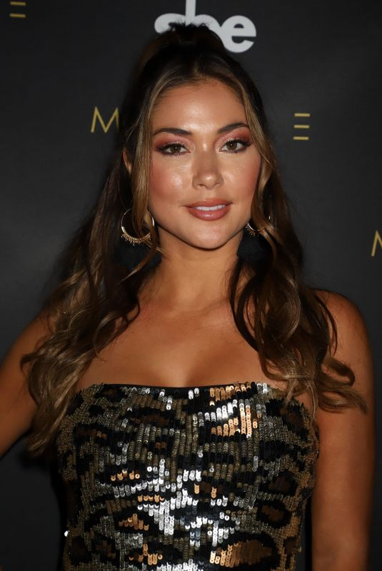 Arianny Celeste and Brittney Palmer host a Fight Week Party at the Bellagio Hotel & Casino in Las Vegas