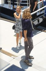 Arielle Kebbel and Jason Lewis pose at Comic Con in San Diego