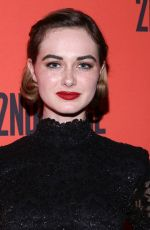 Audrey Corsa At Mary Page Marlowe Off-Broadway Opening Night Arrivals at the Tony Kiser Theater, New York