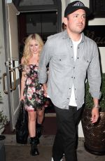 Avril Lavigne At Night out in Beverly Hills