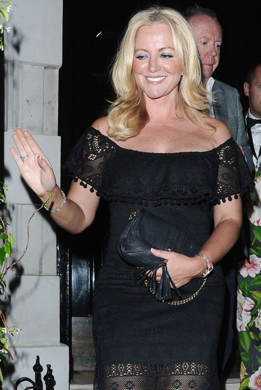 Baroness Michelle Mone Is All Smiles While Out With Her Billionaire Boyfriend In London