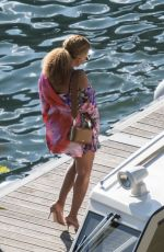 Beyonce & Jay Z Arriving at Casta Diva resort in lake Como, Italy