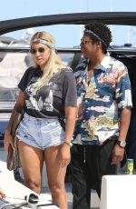 Beyonce & Jay Z Pictured in Nice, France