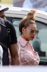 Beyonce Knowles At the airport in Warsaw