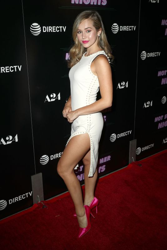 Brec Bassinger At Screening of A24