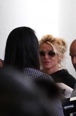 Britney Spears Arrives at LAX