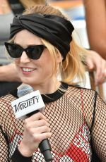 Caity Lotz At Variety Studio Comic-Con, Day 3, San Diego
