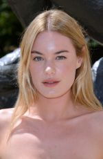 Camille Rowe At Christian Dior Haute Couture Fall Winter 2018/2019 show as part of Paris Fashion Week in Paris, France