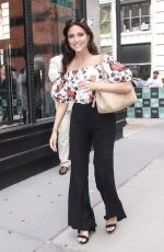 Cassie Scerbo Arriving at Build Series in New York City