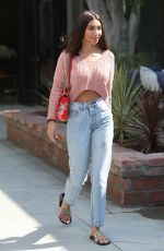 Chantel Jeffries Leaving a Salon in West Hollywood