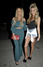 Charlotte Crosby And Olivia Attwood Seen enjoying a Night Out In Manchester