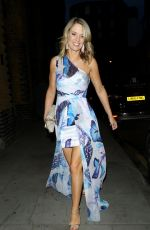 Charlotte Hawkins At the ITV summer party, held at Nobu Shoreditch restaurant in London